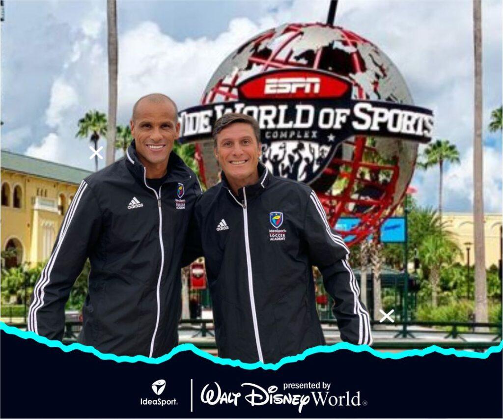 Rivaldo Ferreira and Javier Zanetti Join IdeaSport